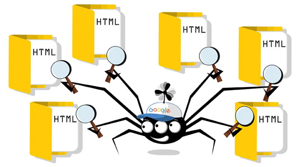 خزندههای گوگل